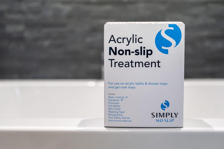 Acrylic Non Slip Treatment