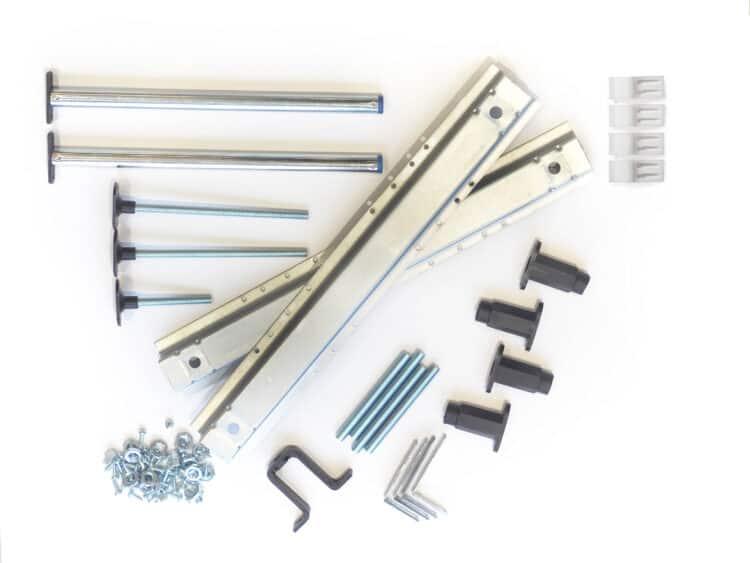 Full bag of ancillary parts