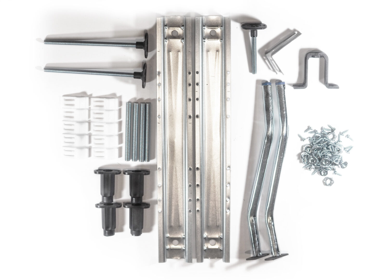 Full pack of spare parts for luxury curved fittings